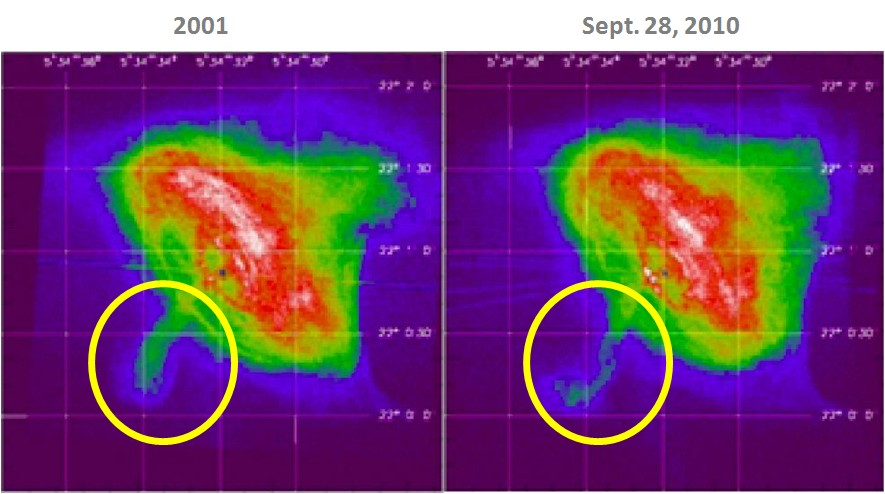 Numerical Models of the Kinked Jet from the Crab Nebula